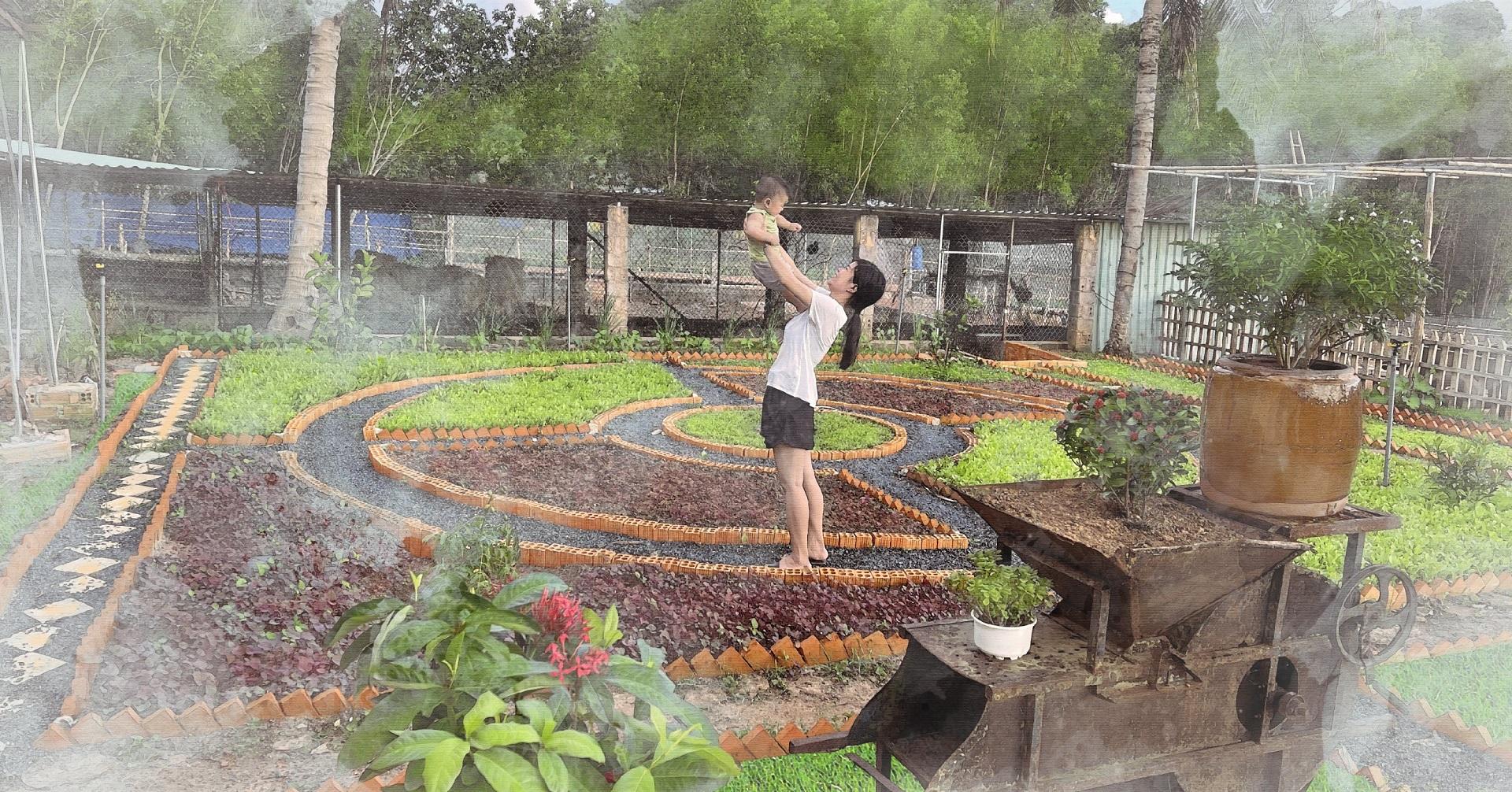trải nghiệm nông trại vườn quê