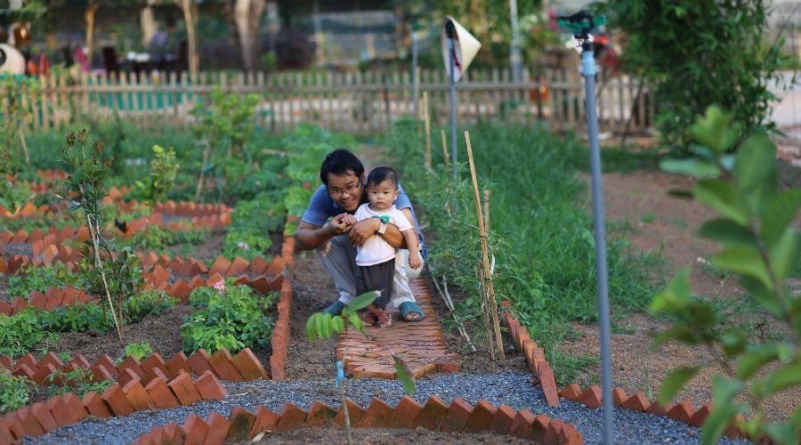 farmstay vườn quê việt